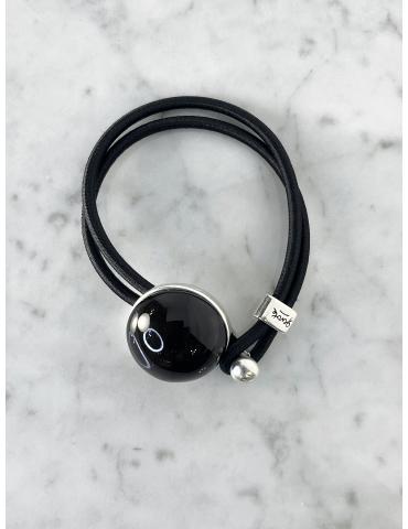 Bracelet Bulle Gevole Noir