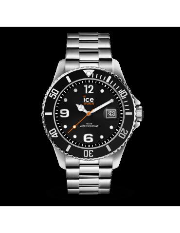 Montre Ice Watch Steel Noir