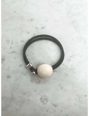Bracelet Bulle Gevole Blanc